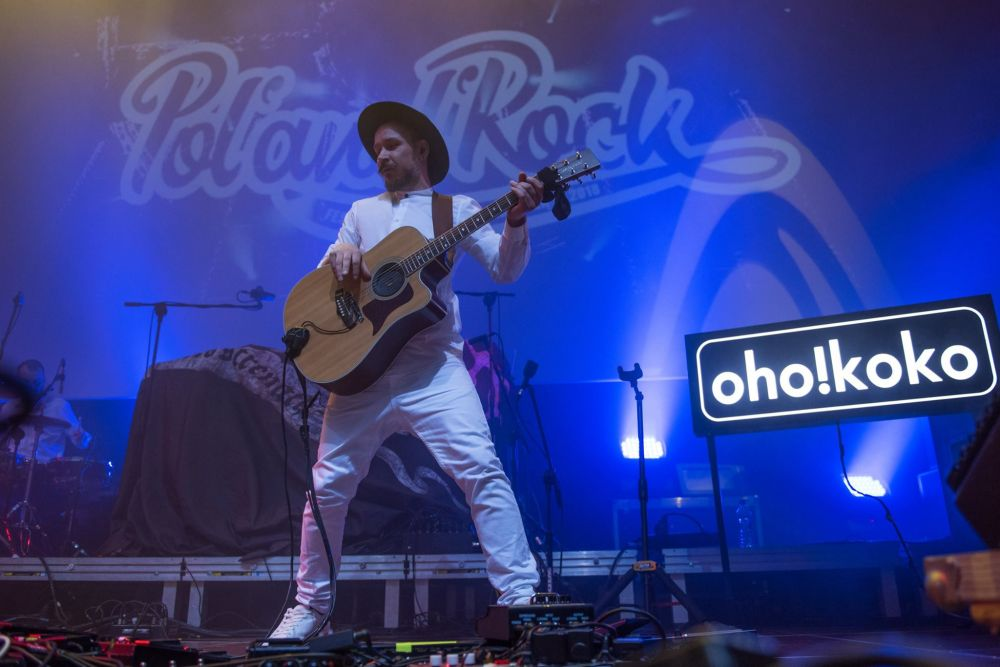 Występ zespołu OHO!KOKO! na poznańskich Eliminacjach do Pol'and'Rock Festival - fot. Marta Szpakowska