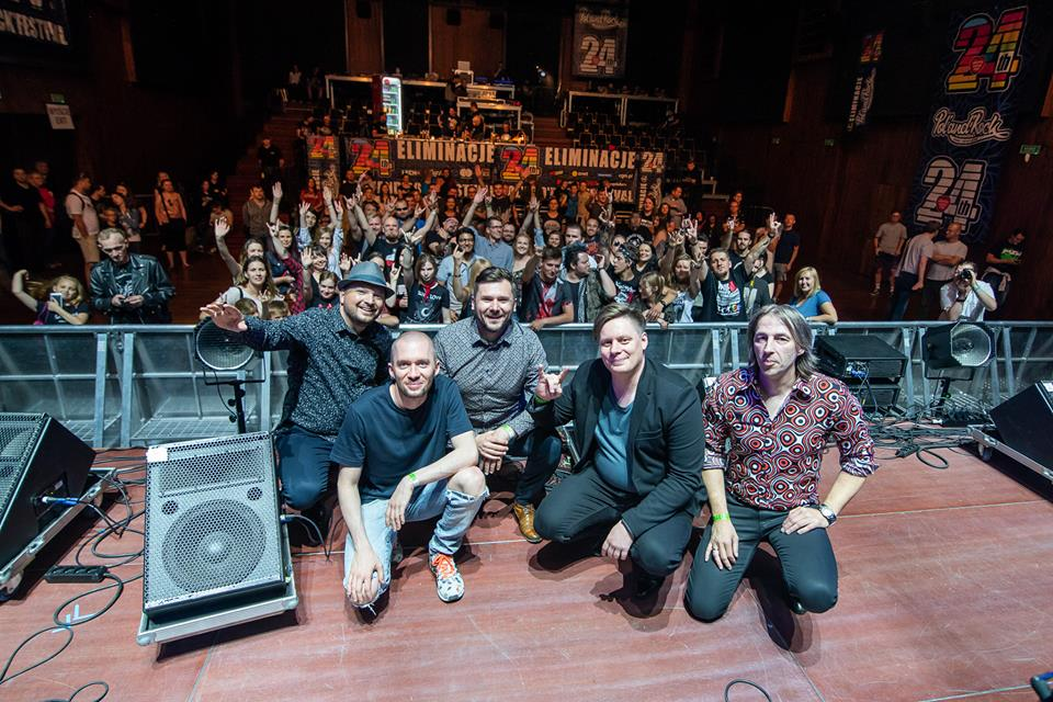 The Tune i publiczność Eliminacji do Pol'and'Rock Festival w Poznaniu - fot. Grzegorz Adamek