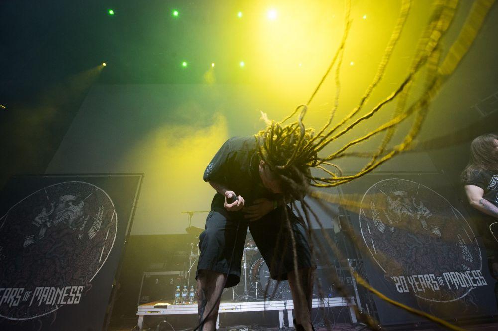 Zespół Decapitated na Eliminacjach do Pol'and'Rock Festival - fot. Stanisław Wadas