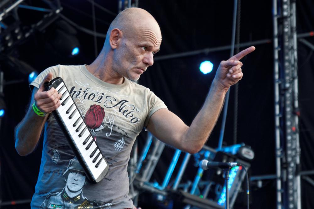 Robert Brylewski na Przystanku Woodstock, fot. Paweł Wołochowicz