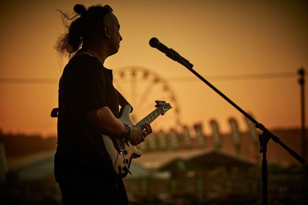 Glasspop na scenie Pol'and'Rock 2018 (fot. Ola Drutkowska)