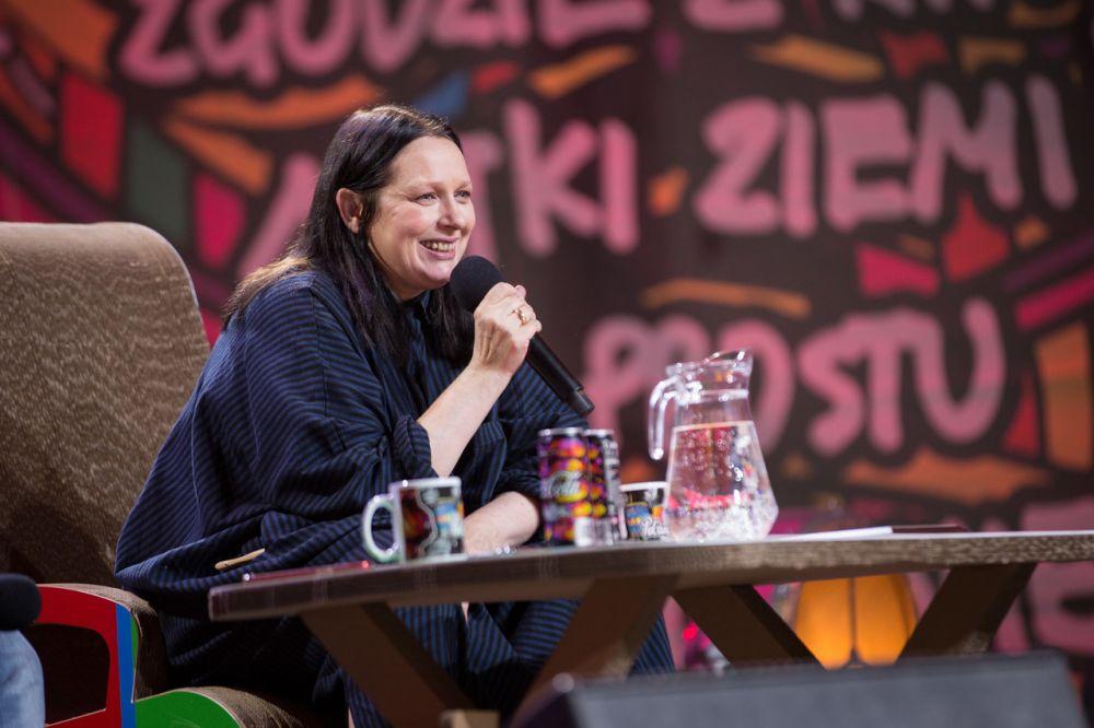 Kasia Nosowska na Akademii Sztuk Przepięknych w 2019 roku fot. Lucyna Lewandowska