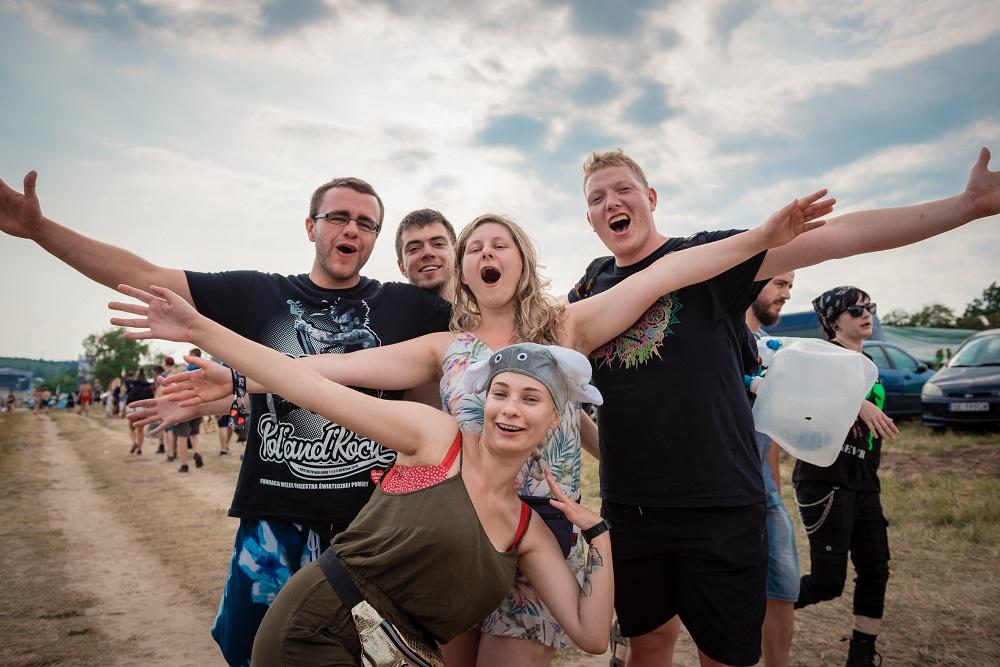 Publiczność Pol'and'Rock Festival, fot. Marcin Michoń