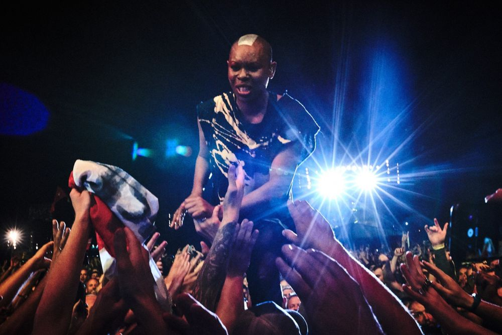 Happy B-Day! Skunk Anansie in Action, photo by Ola Drutkowska
