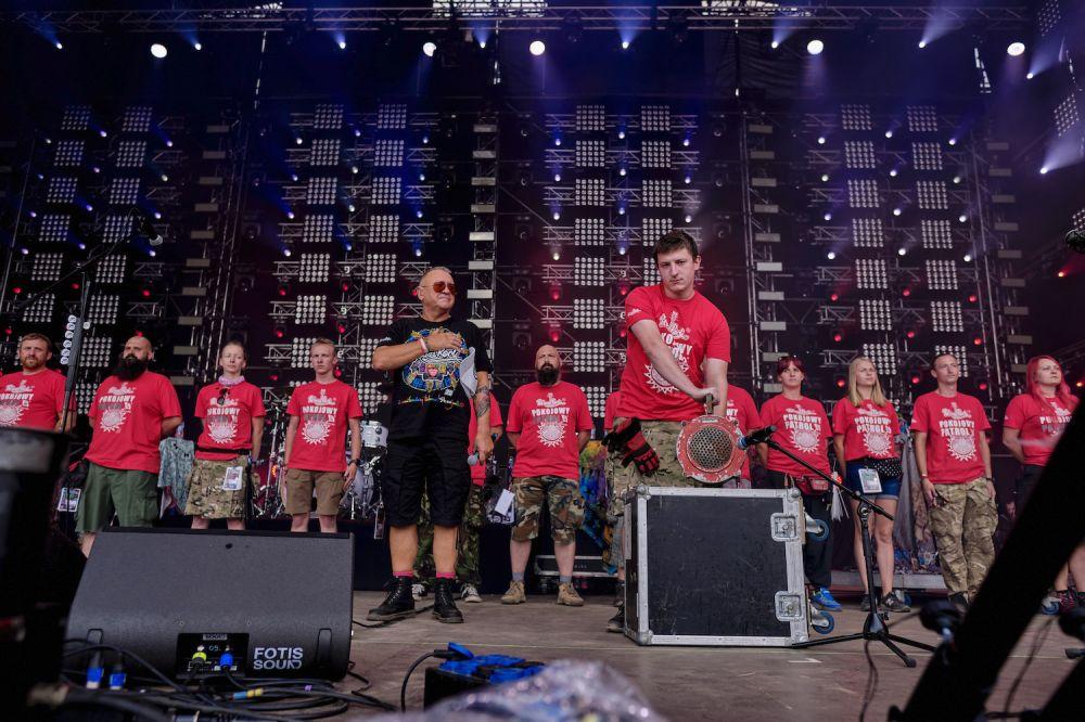Godzina W w czasie 25. Pol'and'Rock Festival (2019), fot. Piotr Barbachowski