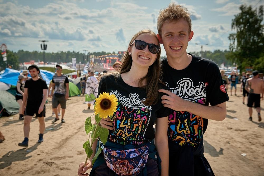 Festiwalowicze 25. Pol'and'Rock Festival, fot. Szymon Aksienionek