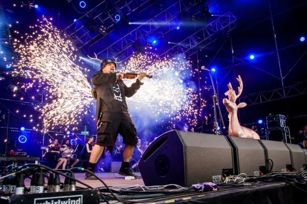 Koncert Jelonka na Dużej Scenie Przystanku Woodstock w 2014 roku fot. Anna Migda